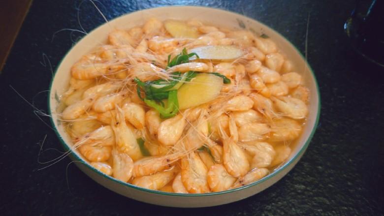 太湖三白-盐水白米虾