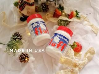 果仁燕麦能量棒,这次使用的是香草味的FLUFF棉花糖。也可以使用其它口味的FLUFF棉花糖哦。(不建议使用其它普通棉花糖做,一是会增加糖的用量,二是做出来的成品也比较硬。)