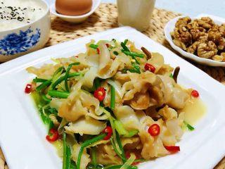 香葱爆海螺片,这道美味绝对是宴客的必备拿手大菜哦