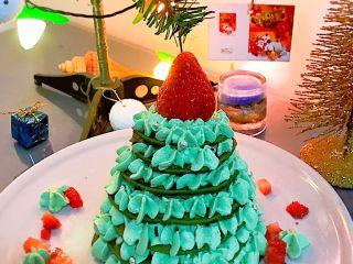 圣诞树松饼,很好吃也很漂亮的圣诞树松饼哦,孩子超级喜欢。