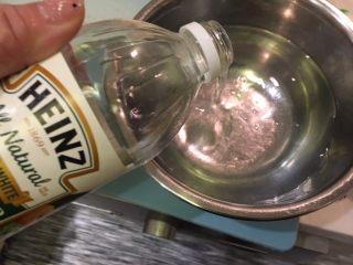 日式炸鱼饼,准备一碗醋水