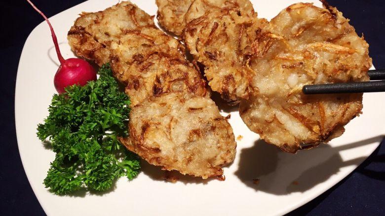 日式炸鱼饼