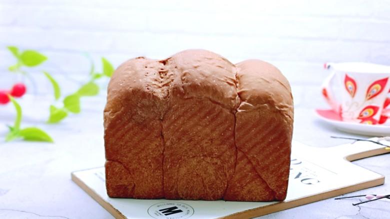 可可酸奶吐司面包