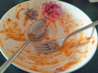 番茄火腿意面🍅🍝,隔~吃饱满足。