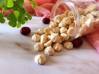 无糖红枣溶豆,成品