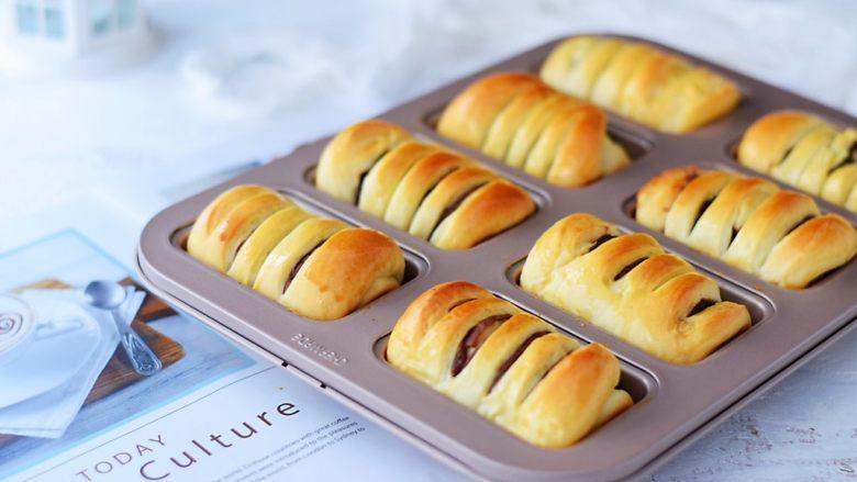 面包豆沙卷