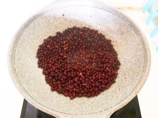 自制蜜豆,要不停的翻拌