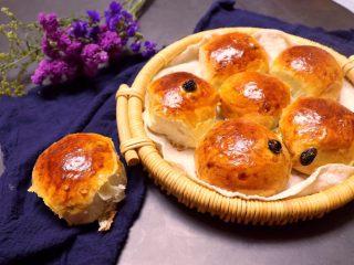 葡萄干早餐小面包,超好吃