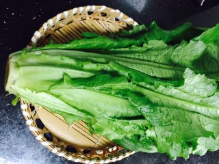 家常菜+清炒油麦菜,油麦菜