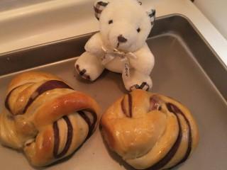 超软豆沙面包圈—家庭手作小点心