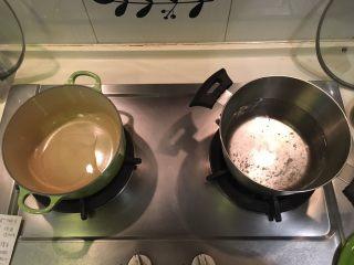 啤酒柠檬炖牛腩,哦哦!右边这锅烧开水,等等川烫牛腩