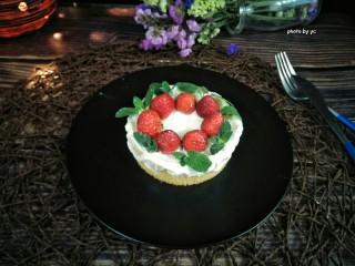 草莓奶油蛋糕,成品