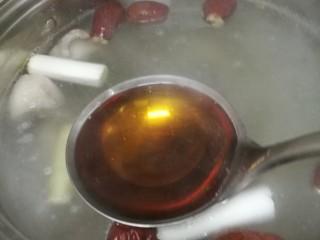 菜谱#当归生姜羊排汤#[创建于9/元~2018],再加入料酒。