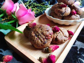玫瑰花红糖小酥饼