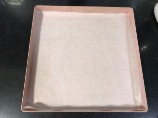 裂纹巧克力软饼干,烤盘铺油纸备用。