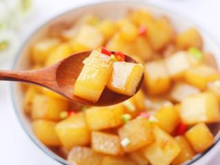 比肉还好吃的红烧萝卜,开吃吧。