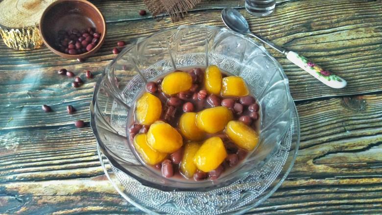 红豆芋圆,成品