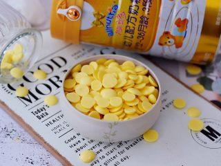蛋黄溶豆,成品图