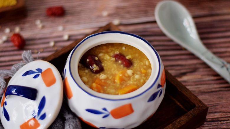 小米红薯粥,图二