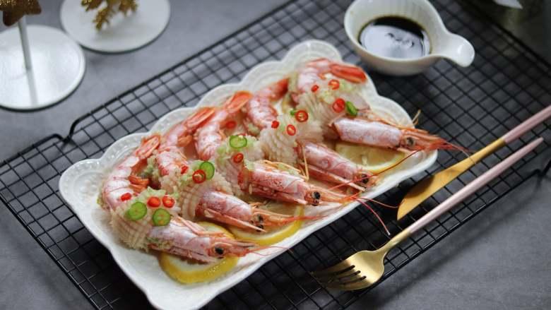 柠檬蒸红虾,年夜饭食谱