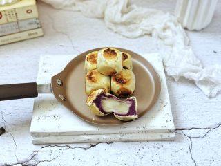 爆浆紫薯仙豆糕,成品图