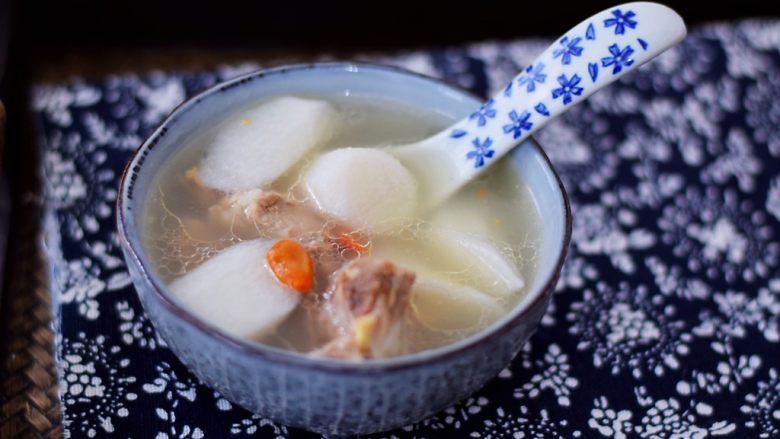 猪骨山药汤,图三