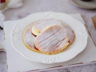 舒芙蕾松饼,成品图