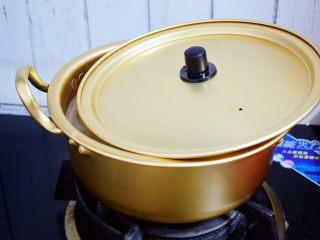 百合粥,再转小火炖煮30分钟