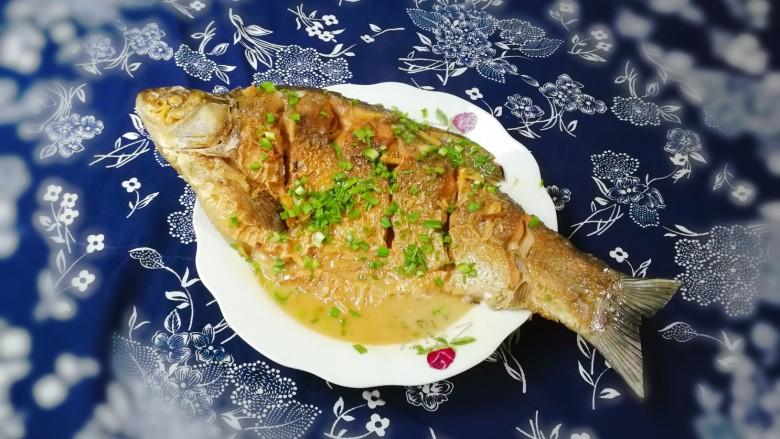 蒜末糖醋鳊鱼
