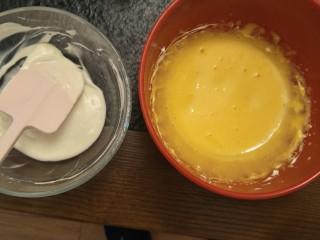 新手奶油小西饼——少油少糖,蛋黄微微打发就行了。