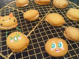 新手奶油小西饼——少油少糖,完成啦。超可爱。