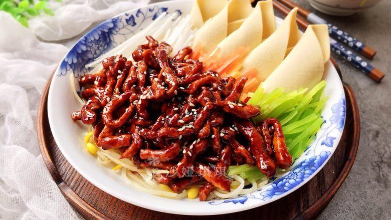 五彩京酱肉丝