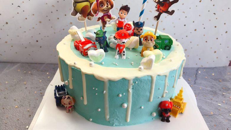 汪汪队生日蛋糕