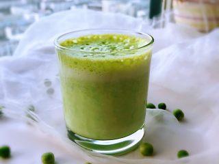 牛奶豌豆热饮,成品。