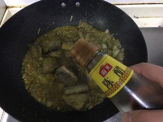红烧带鱼,加入适量香醋