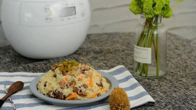 电饭煲羊肉手抓饭—有菜有饭,吃饱还要吃好