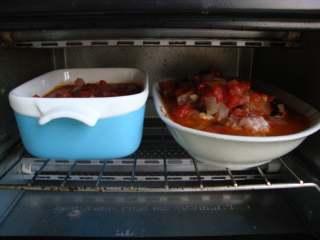 西西里肉丸意面,180度烤大概30分钟,烤熟取出