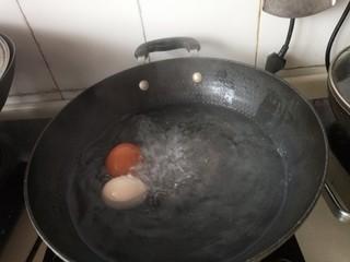 自制烤肉拌饭,煮鸡蛋