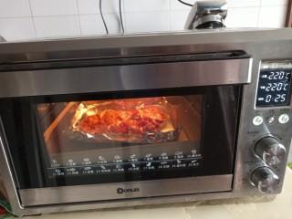 自制烤肉拌饭,220度烤20分钟