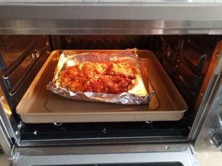 自制烤肉拌饭,放入200度烤箱再烤5分钟