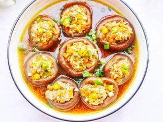 改良版香菇酿肉,开吃啦~