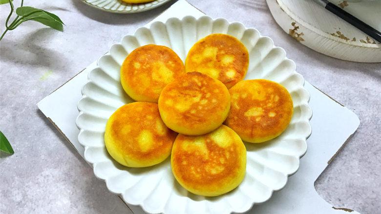 红薯香蕉糯米煎饼