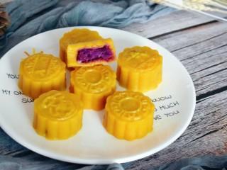 紫薯南瓜糯米糕,开吃喽!