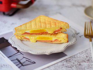 自制三明治,成品图