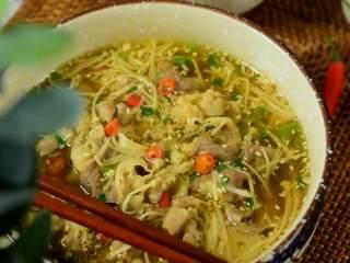 鲜美细滑的肥牛金针菇,真的好好吃,实在是太好吃了。