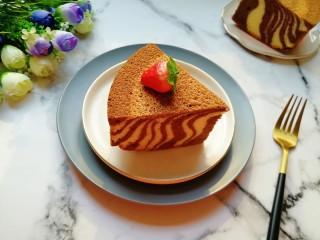 斑马纹戚风蛋糕(8寸)