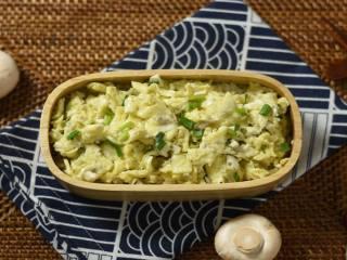 简单又美味的蘑菇嫩蛋,蘑菇鲜、鸡蛋嫩营养又健康