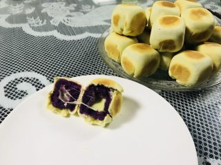 【爆浆芝士】紫薯仙豆糕,适合全家的口味