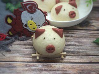 豆沙猪猪包