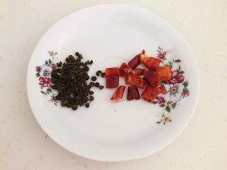 家常红烧金鲳鱼,花椒粒和干红辣椒